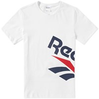 Reebok Side Vector Graphic Tee White