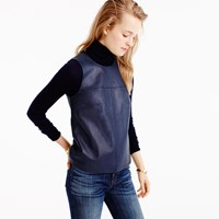 J.Crew Collection Leather Shell