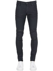G Star 16Cm 5620 3D Zip Super Slim Waxed Jeans