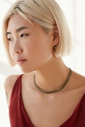 Urban Outfitters Lincoln Chain Collar Necklace Gold
