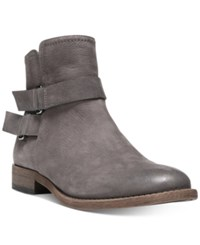 Franco Sarto Harwick Ankle Booties Women's Shoes Grey