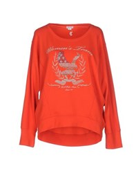 U.S. Polo Assn. U.S.Polo Assn. Topwear Sweatshirts Women Red