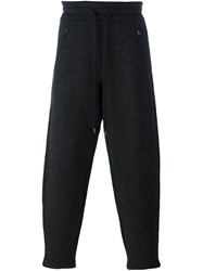Ports 1961 'Micro Boucle Felted' Trousers Grey