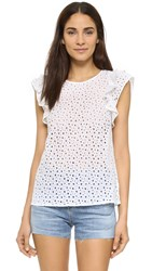 Club Monaco Rousha Top Pure White