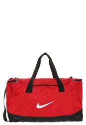 Nike Performance Club Team Sports Bag University Red Black White
