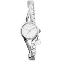 Radley Women's Twisting Bracelet Strap Watch Silver White