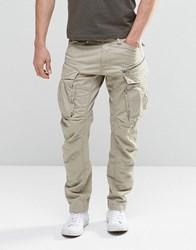 G Star Rovic Zip Cargo Pants 3D Tapered Dune Beige