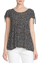 Women's Cece By Cynthia Steffe 'Lyrical Vine' Tie Shoulder Knit Top
