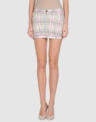 Fornarina Skirts Mini Skirts Women Beige