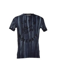 5Preview Topwear T Shirts Men Dark Blue