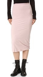 Rick Owens Tube Skirt Rose