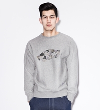 X Vans Ash Patch Era Crewneck Sweater