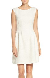 Vince Camuto Women's Boucle Fit And Flare Dress