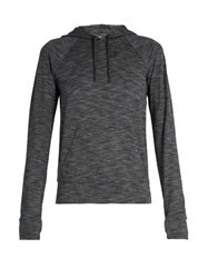 Outdoor Voices X A.P.C Hooded Performance Sweatshirt Grey Multi