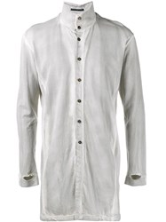 The Viridi Anne Loose Fit Shirt Grey