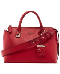 Guess Liya Satchel Red