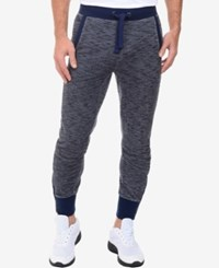 2Xist 2 X Ist Men's Marled Tapered Sweatpants Chambray H