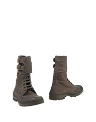 Palladium Footwear Ankle Boots Women Military Green