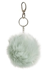 Women's Topshop Faux Fur Pompom Bag Charm
