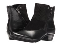 Earth Orion Black Full Grain Leather Women's Boots