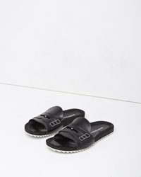 Band Of Outsiders Loafer Slide Black