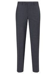 Daniel Hechter Puppytooth Tailored Fit Suit Trousers Airforce