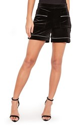 Missguided Women's Velvet Shorts