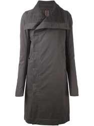 Rick Owens Drkshdw Oversized Coat Grey