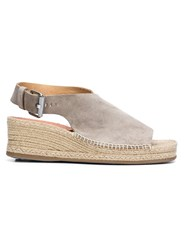Rag And Bone Open Toe Espadrilles Nude And Neutrals