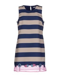 Frankie Morello Short Dresses Dark Blue