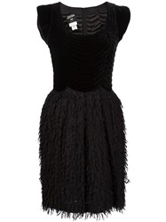 Jean Paul Gaultier Vintage Velvet Top Combo Dress