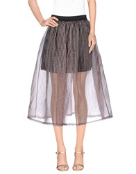 Tirdy Skirts 3 4 Length Skirts Women Cocoa