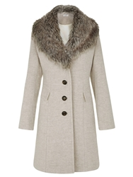 Kaliko Mulberry A Line Coat Neutral
