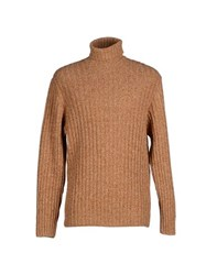 Altea Knitwear Turtlenecks Men Brown
