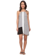 Whitney Eve Currant Dress Grey Black Women's Dress Gray