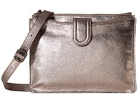 Hobo Goldie Hematite Cross Body Handbags Silver