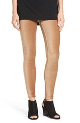 Hue Women's Corduroy Leggings Caramel