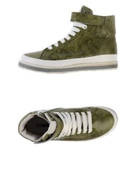 Manas Design Manas High Tops And Trainers Military Green