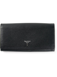 Serapian Fold Over Top Wallet Blue