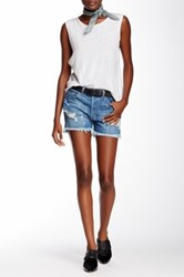 Genetic Denim Azalea Cutoff Short Blue