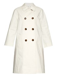 Trademark Double Breasted Cotton Trench Coat