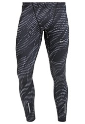 Nike Performance Tights Black Cool Grey Reflective Silver