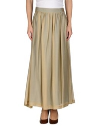 Momoni Momoni Long Skirts Sand
