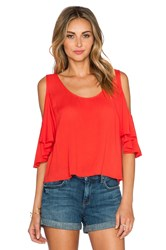 Lovers Friends First Date Top Red