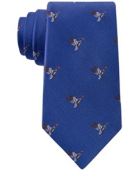 Club Room Men's Flying Geese Tie Only At Macy's Royal Blue