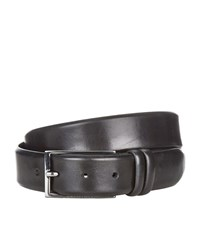 Boss Carmello Brushed Leather Belt Unisex
