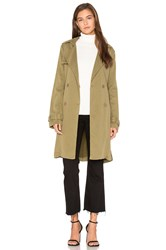 American Vintage Starland Trench Green