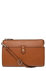 Lodis 'Audrey Collection Vicky' Convertible Crossbody Bag Brown Toffee
