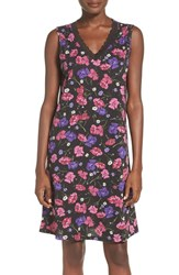 Lauren Ralph Lauren Women's Lace Trim Floral Nightgown