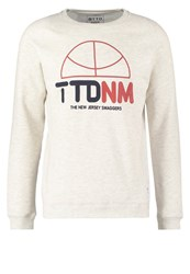 Tom Tailor Denim Sweatshirt Ecru Melange Off White